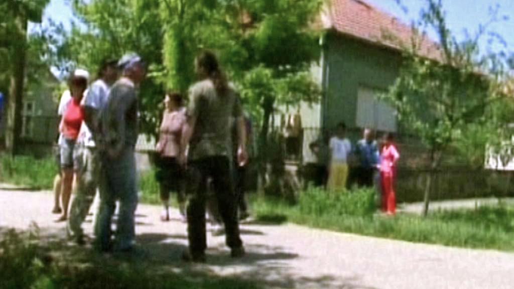Dům v Lazarevu, kde byl zatčen Ratko Mladić
