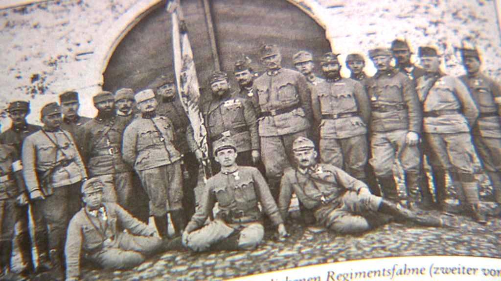 Vojáci za 1. světové války