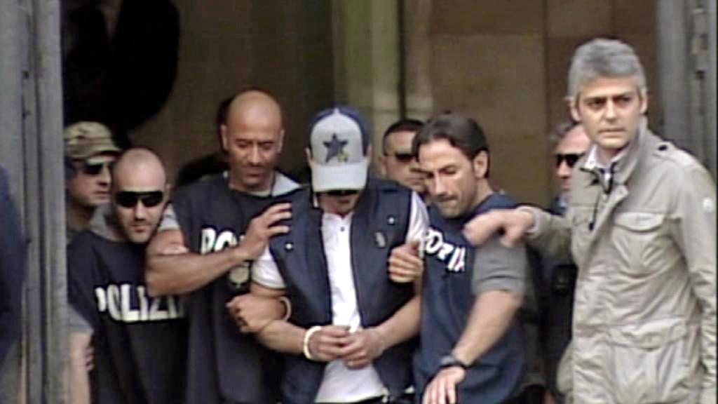 Zatčení Giuseppa Dell\'Aquily