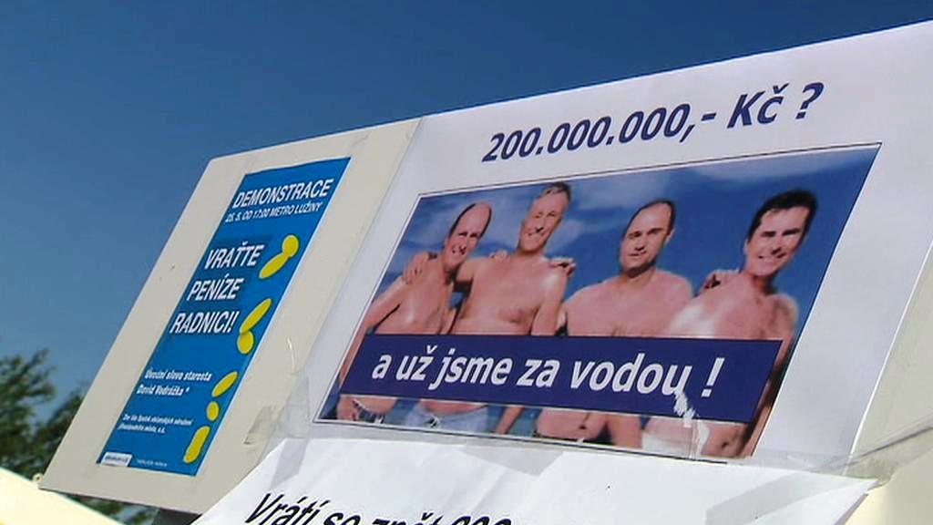 Protesty na Praze 13