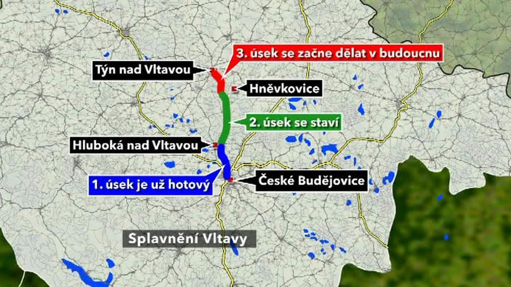Splavnění Vltavy