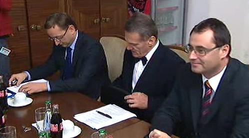 ODS na jednání v Praze