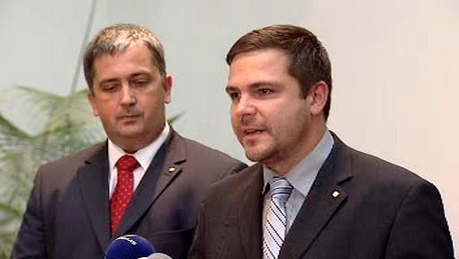 Petr Hulínský a Karel Březina
