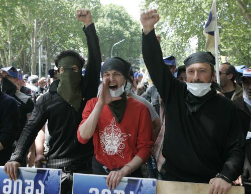 Protivládní protesty v Gruzii