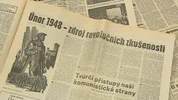 Noviny z února 1948