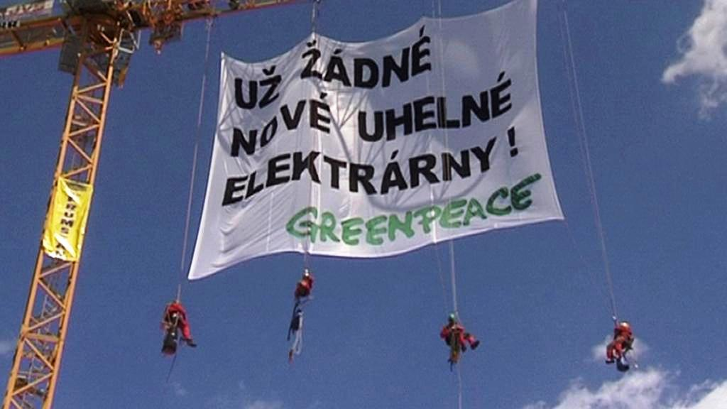Protest hnutí Greenpeace
