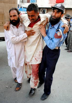 Oběť teroristického útoku