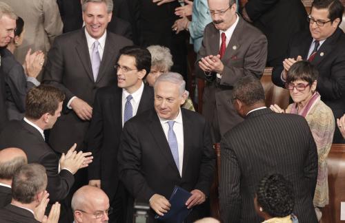 Benjamin Netanjahu v americkém Kongresu
