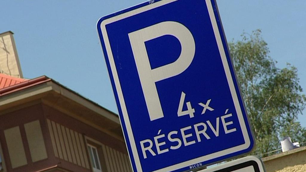 Vyhrazená parkovací místa