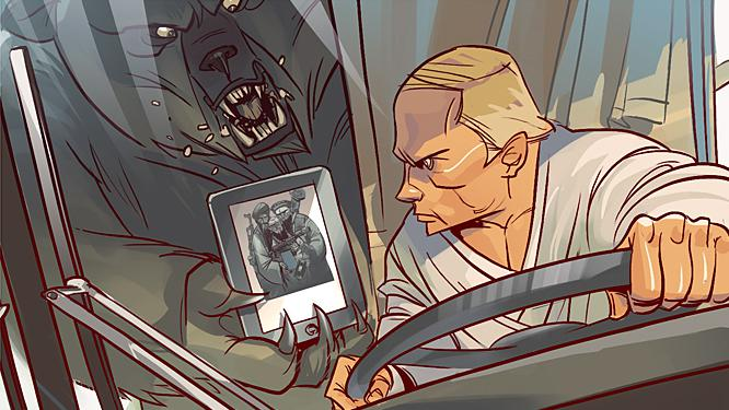 Vladimir Putin v komiksu Superputin