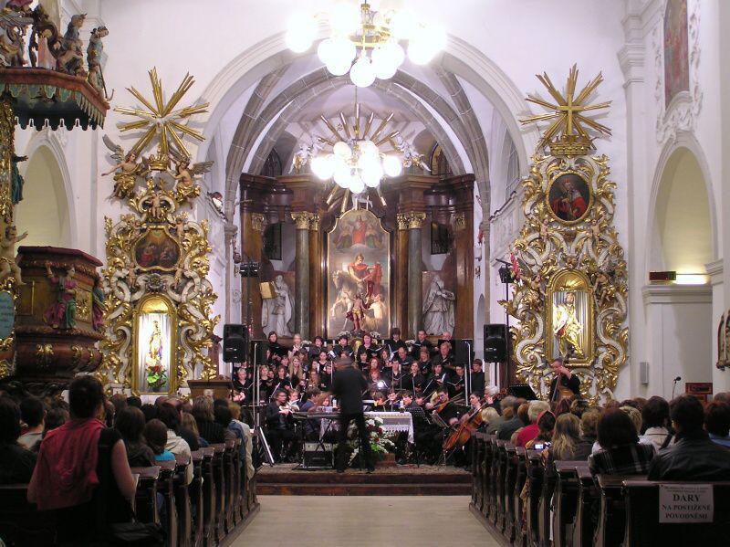 Noc kostelů v Třebíči