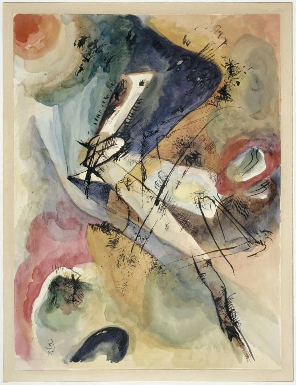 Vasilij Kandinskij / bez názvu (1915)