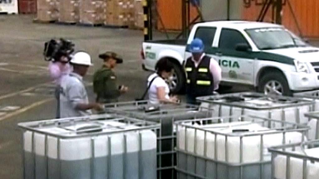 Místo melasy byly v kontejnerech drogy