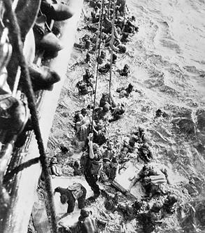Záchrana trosečníků z Bismarcku