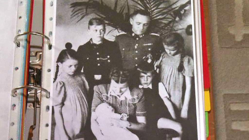 Rudolf Höess s rodinou