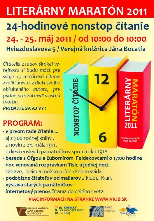 Nonstop čtení 2011 / Košice
