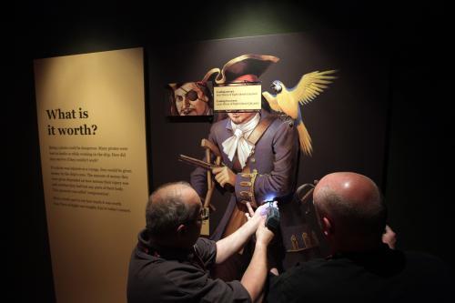 Z výstavy Piráti: Příběh kapitána Kidda