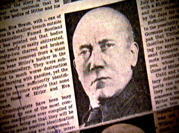 Média po válce spekulovala, jak by Hitler mohl vypadat