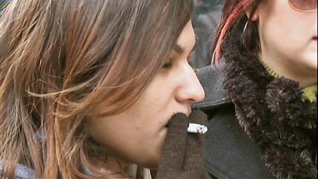 Kuřáci v newyorských ulicích