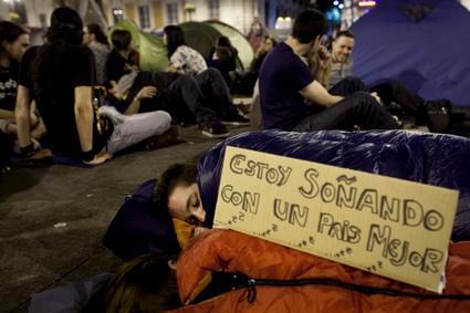 Španělské protesty