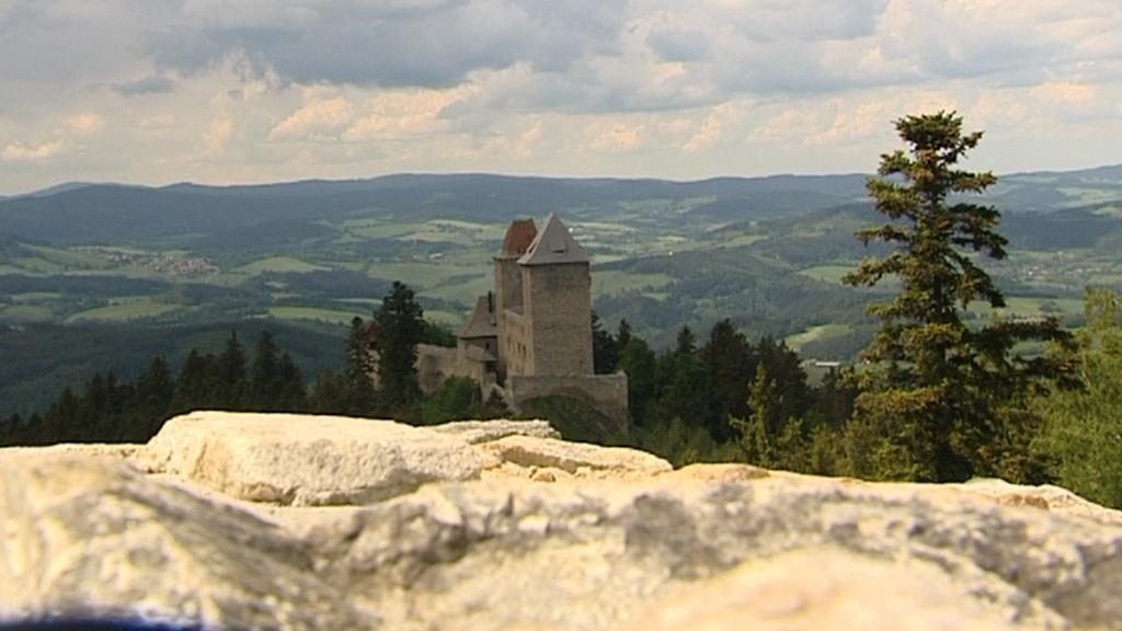 Vyhlídka na hrad Kašperk