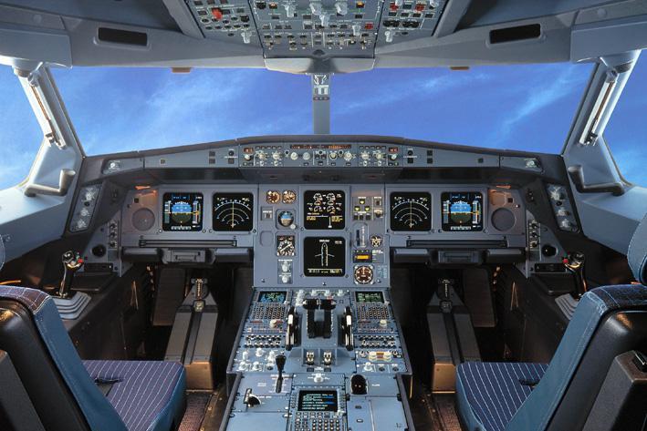 Kokpit Airbusu A330