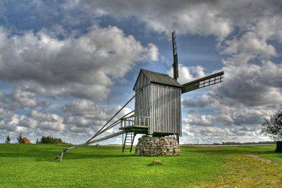 Mlýn na ostrově Saaremaa
