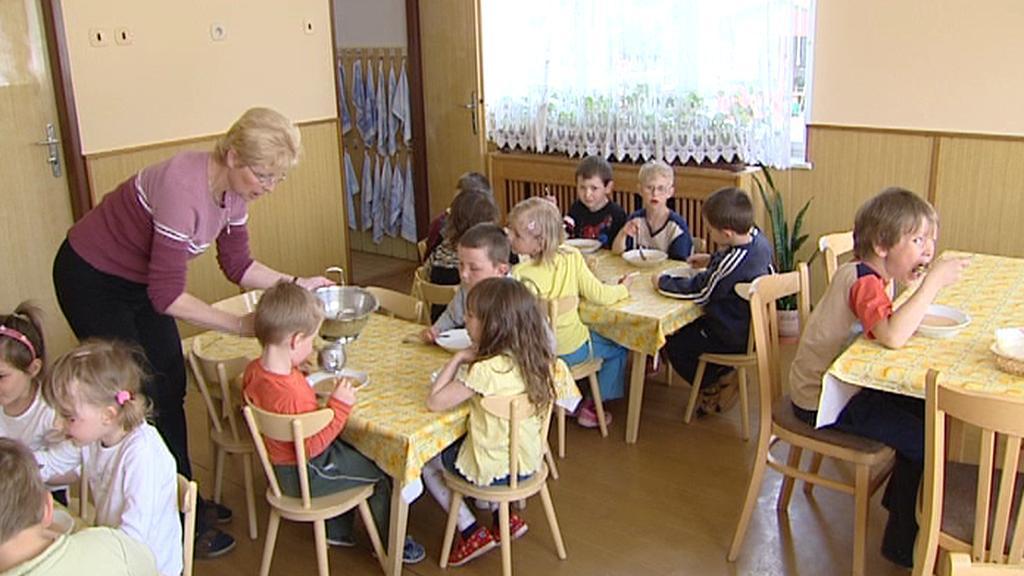 V mateřské škole