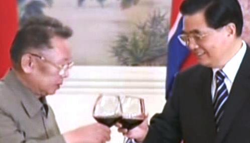 Kim Čong-il na návštěvě Číny