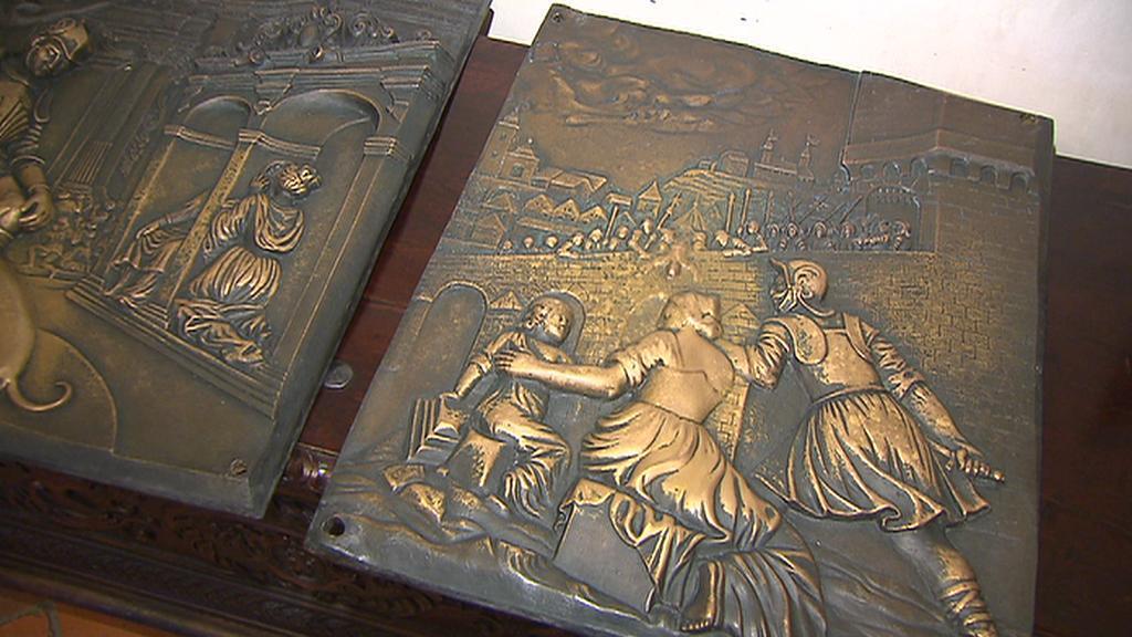 Kopie bronzových odlitků
