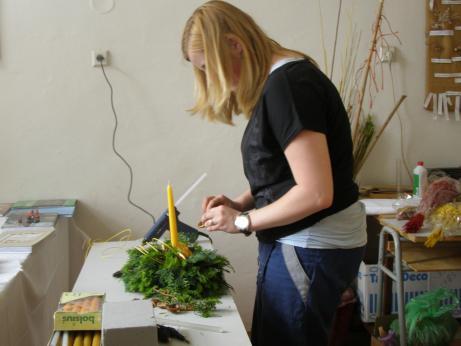 Zahradníci z Kopildna při praktických maturitách