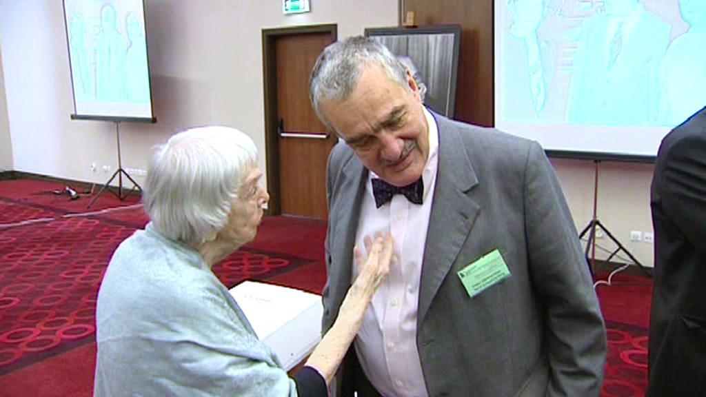 Karel Schwarzenberg a Ljudmila Alexejevová