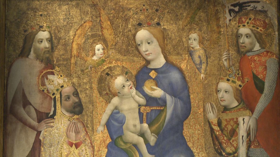 Votivní obraz Jana Očka z Vlašimi
