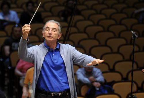 Dirigent Michael Tilson Thomas