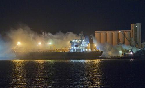 NATO potopilo Kaddáfího lodě