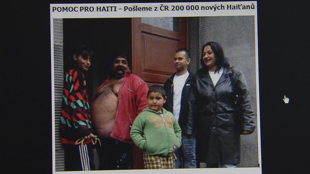 Fotografie z facebooku Jiřího Šulce