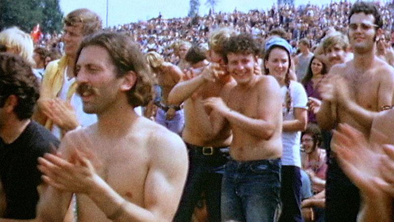 Hudební festival ve Woodstocku
