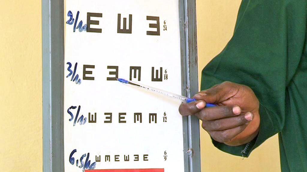 Oční klinika v Zorghu v Burkině Faso