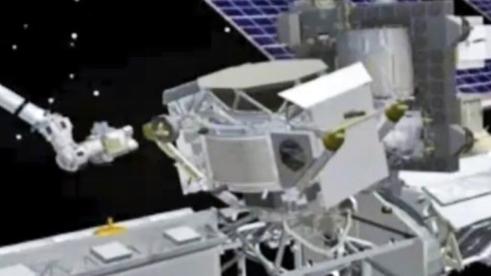 Alfa magnetický spektrometr na ISS