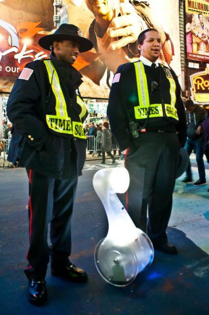 Tvor na Time Square