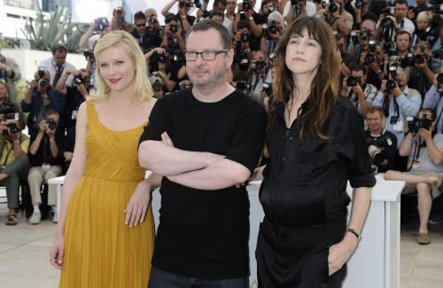Kirsten Dunstová, Lars von Trier a Charlotte Chainsbourgová