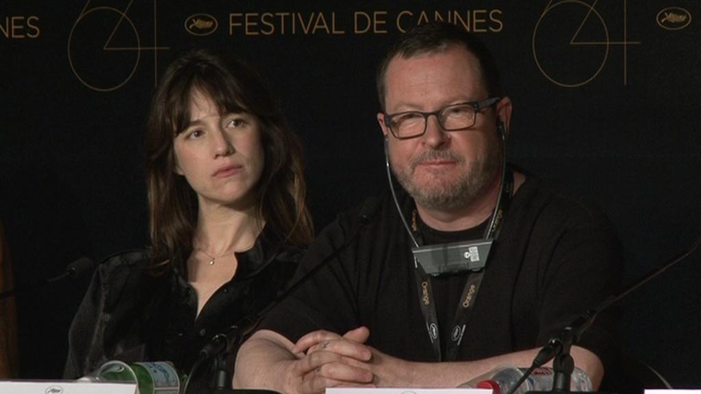 Lars von Trier a Charlotte Chainsbourgová