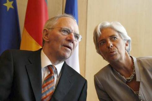 Lagardeova a Schäuble