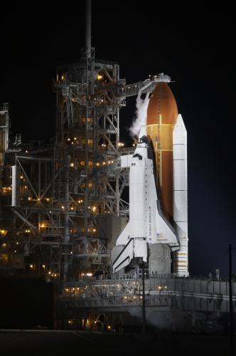 Raketoplán Endeavour připraven ke své poslední misi