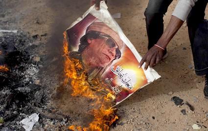Protesty proti Muammaru Kaddáfímu