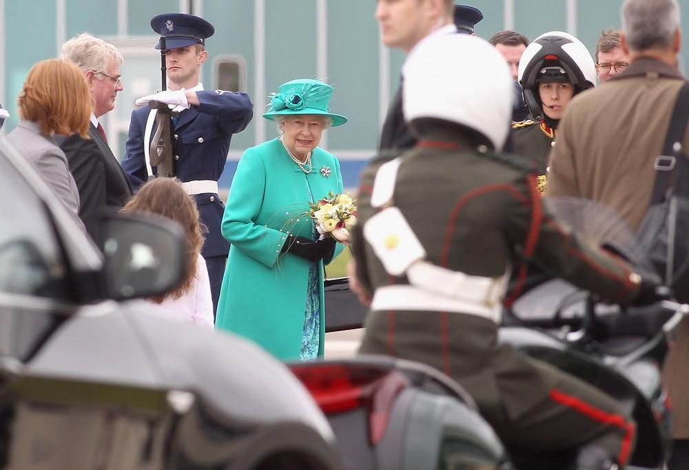 Alžběta II. v Irsku