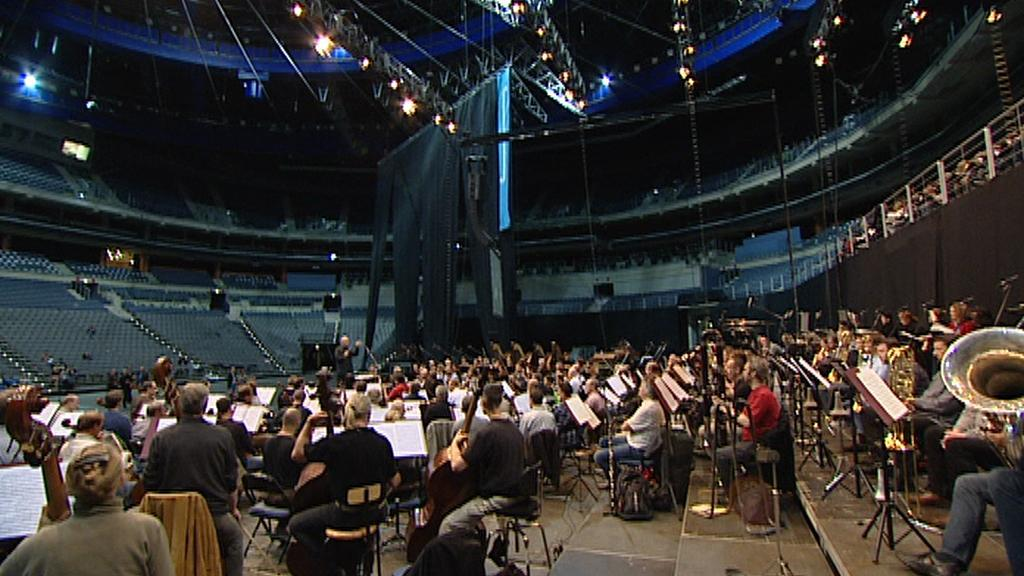 Zkoušky na Mahlerovu Osmou symfonii