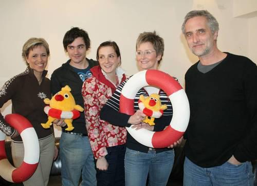 Moderátoři z projektu Pomozte dětem