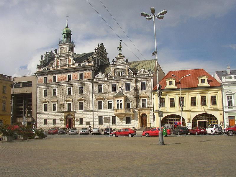 Radnice na Karlově náměstí v Kolíně