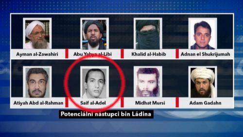 Sajf Ádil mezi potenciálními nástupci Usámy bin Ládina